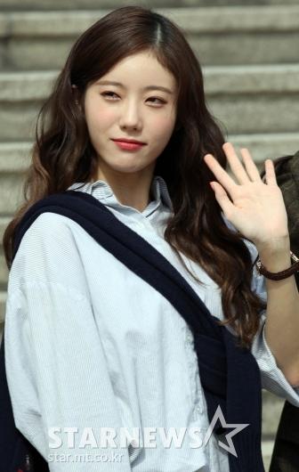 우주소녀 쪼꼬미 루다 '햇살담은 미모' [★포토]