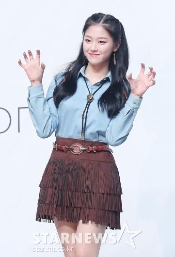 이달의소녀 현진 '귀엽게 앙'[★포토]