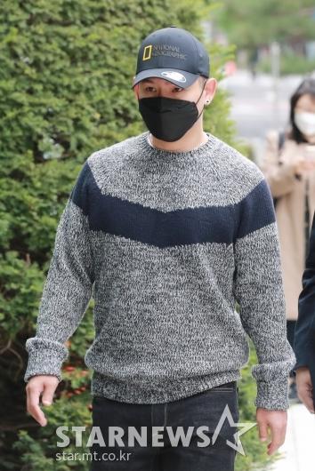 '불법도박장 개설 혐의' 김형인, 첫 공판 출석[★포토]