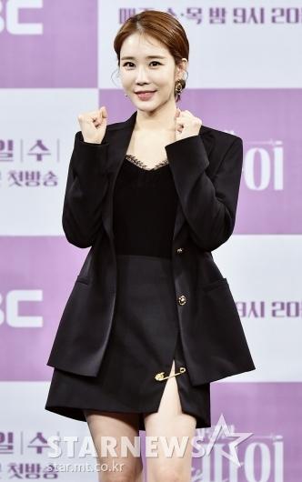 유인나 '옷핀이 포인트!'[★포토]