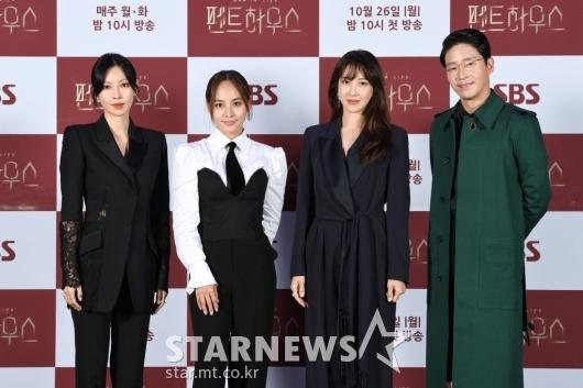 김소연-유진-이지아-엄기준 '펜트하우스 주역들'[★포토]