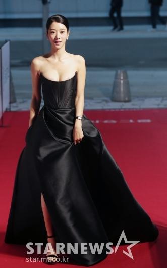 서예지 '완벽한 블랙 드레스 자태'[★포토]