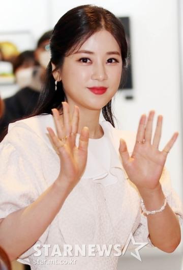 박초롱 '오랜만에 인사드려요' [★포토]