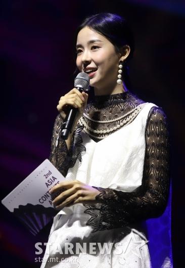 제2회 ACA 진행 맡은 미코 김세연[★포토]