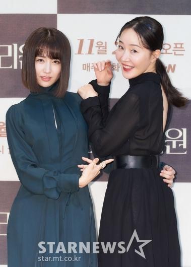 박하선-엄지원 '누가 더 예뻐요?'[★포토]