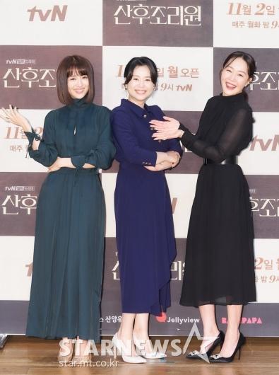 박하선-장혜진-엄지원 '즐거운 산후조리원'[★포토]