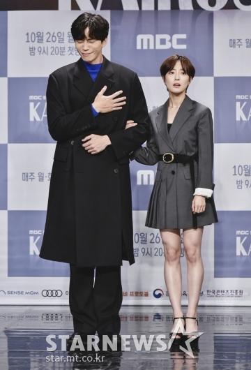 신성록-이세영 '달달한 포즈'[★포토]