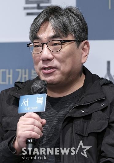 인사말 하는 영화 '서복' 이용주 감독[★포토]