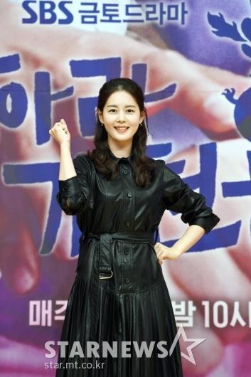 김주현 '파이팅도 예쁘게'[★포토]
