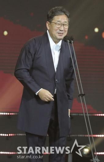'대중문화예술상' 축사하는 박양우 장관[★포토]
