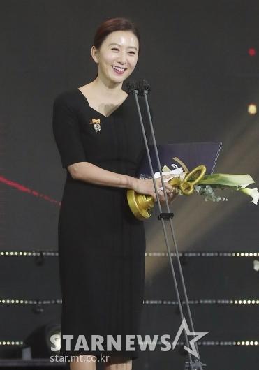 김희애 '아름다운 미소'[★포토]
