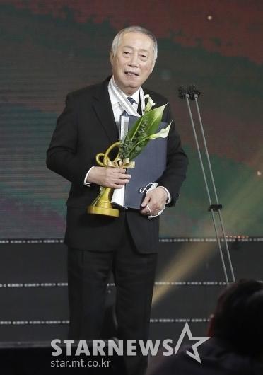 변희봉 '대중문화예술상 은관 문화훈장 수훈'[★포토]