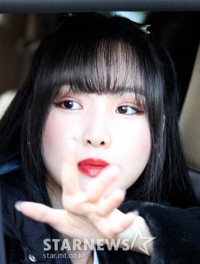 여자친구 유주 '눈에 띄는 미모' [★포토]