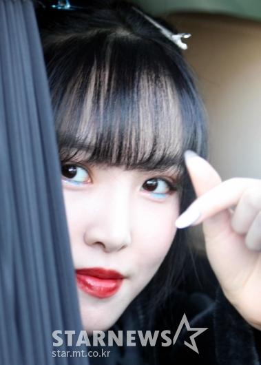 여자친구 유주 '심쿵을 부르는 하트' [★포토]