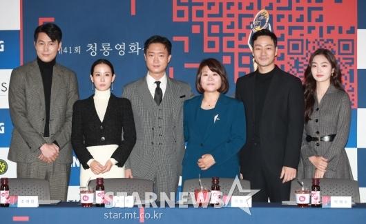 41회 청룡영화상 핸드프린팅 주인공들[★포토]