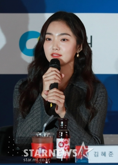 김혜준 '영광스런 핸드프린팅'[★포토]