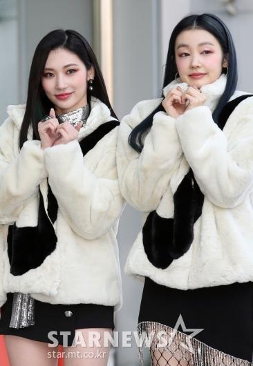 진희-레아 '앙증맞은 하트' [★포토]