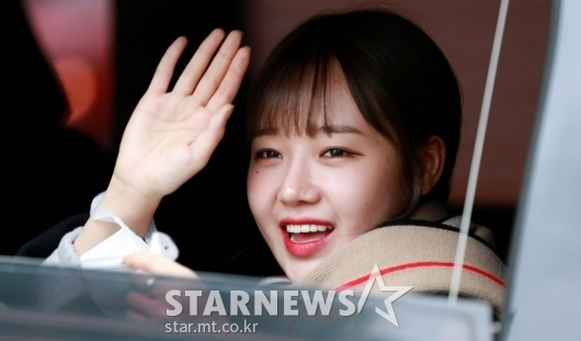 최유정 '귀영운 미소로 인사' [★포토]