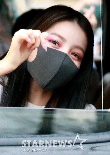 여자친구 소원 '사랑스런 하트~'[★포토]