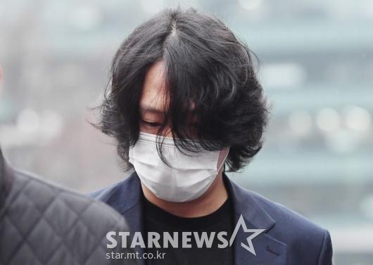 힘찬 '성추행 혐의 8차 공판'[★포토]