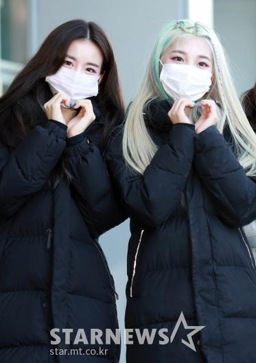 우연-민서 '예쁘게 하트~' [★포토]