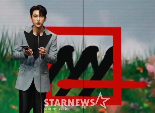 박진영, 2020 AAA 배우 부문 포텐셜상 수상[★포토]