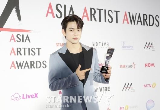 박진영 'AAA 배우부문 포텐셜' 수상[★포토]