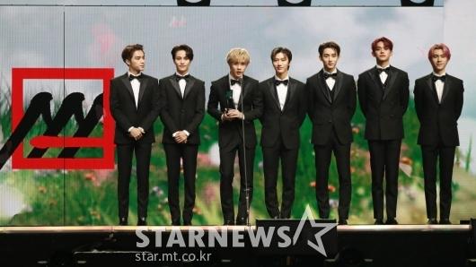 WayV, 2020 AAA 가수 부문 아시아 셀러브리티상 수상[★포토]