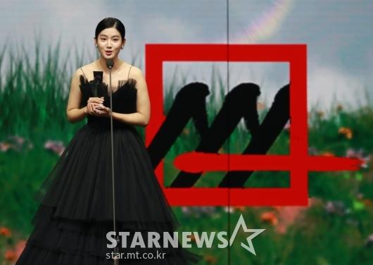 박주현, 2020 AAA 배우 부문 베스트초이스상 수상[★포토]
