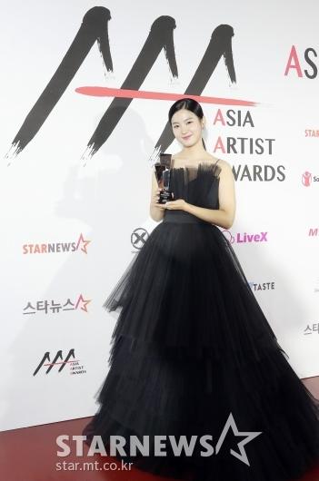 박주현 '우아한 블랙 드레스 자태'[★포토]