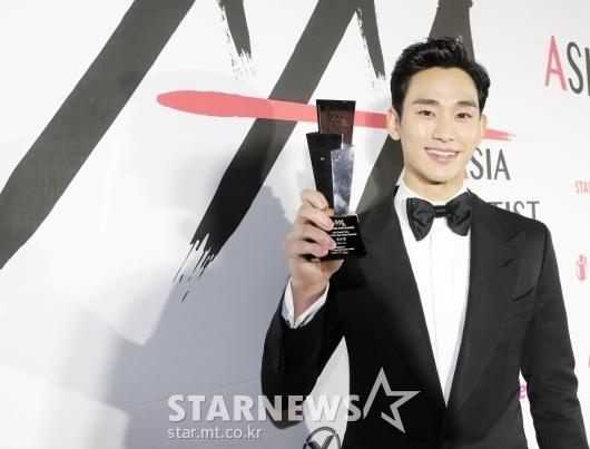 김수현 'AAA 드라마 부문 올해의 배우'[★포토]