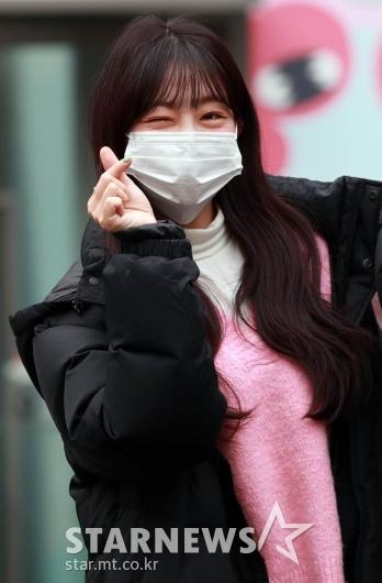 라붐 유정 '새해인사는 윙크로!' [★포토]