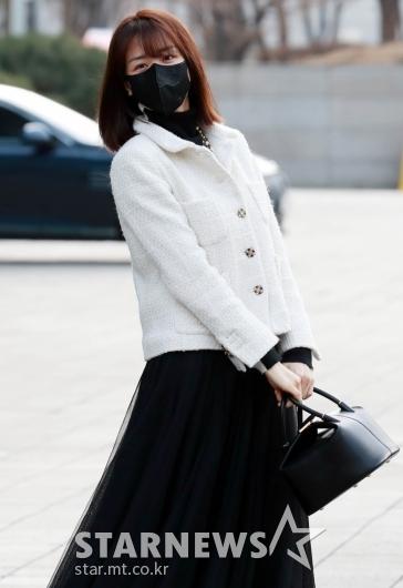 박하선 '패션에는 봄이 왔네요!' [★포토]
