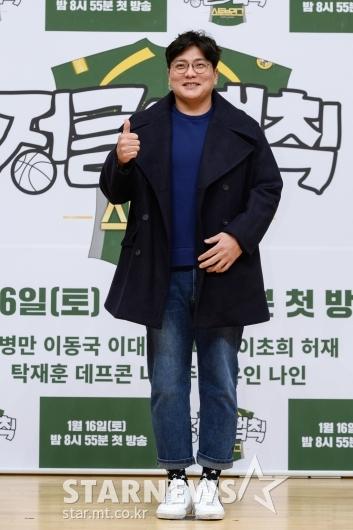 김태균 '예능 초보'[★포토]