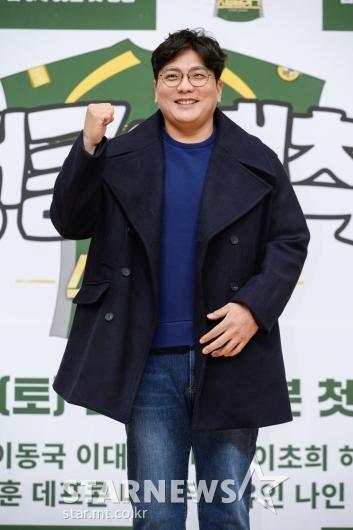 김태균 '정글의 법칙 파이팅!'[★포토]
