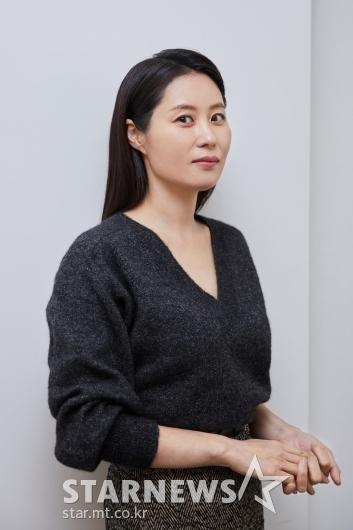 영화 '세자매' 미연 역 배우 문소리[★포토]