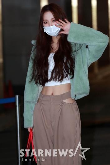 유하 '스타일리시한 출근길 패션'[★포토]