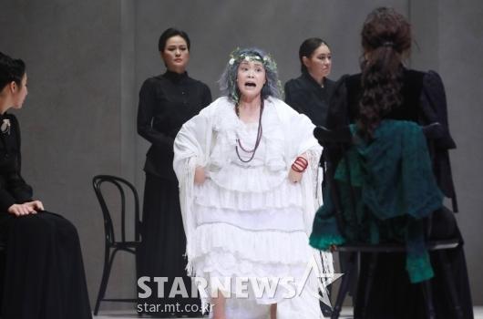 뮤지컬 '베르나르다 알바' 전막시연[★포토]