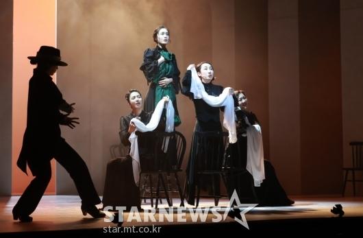 억압된 자들의 위한 뮤지컬 '베르나르다 알바'[★포토]