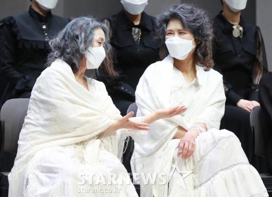 황석정-강애심 '두명의 마리아'[★포토]
