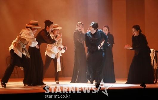 여성들이 만든 뮤지컬 '베르나르다 알바'[★포토]