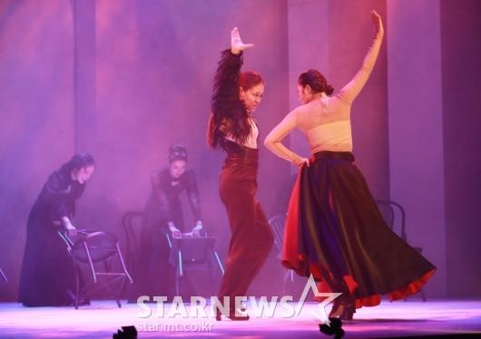 뮤지컬 '베르나르다 알바'...정열의 플라멩코[★포토]