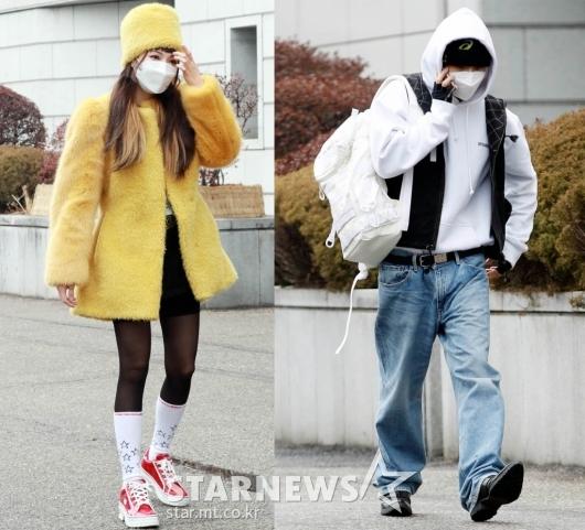 현아-던 '서로 응원하는 예쁜커플'[★포토]