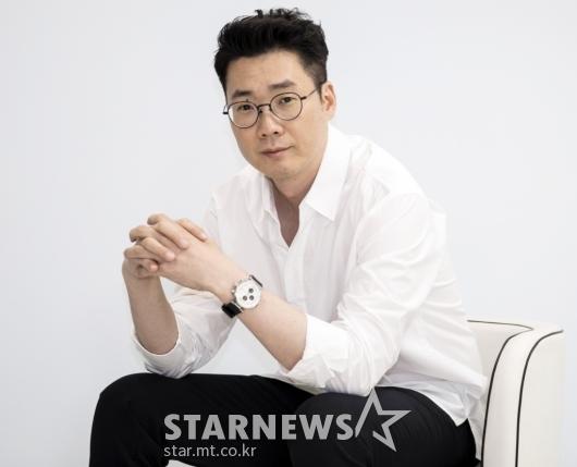 포즈 취하는 '범바너3' 조효진 PD[★포토]