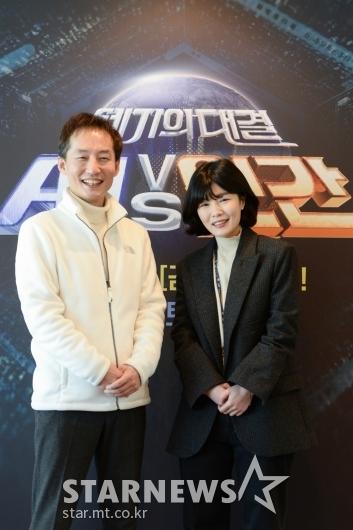 'AI vs 인간' 만든 남상문-김민지 PD[★포토]