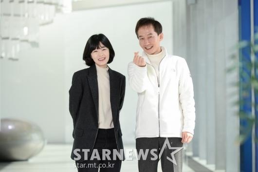 남상문-김민지 PD 'AI와 인간의 대결 기대하세요'[★포토]