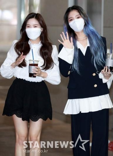 효정-미미 '주간아 축하해요!' [★포토]