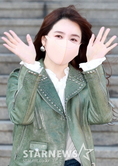 '금손' 윤은혜, '새해 복 많이 받으세요~'[★포토]