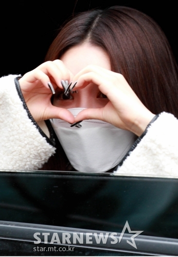 청하 '귀엽고 예쁜하트'[★포토]