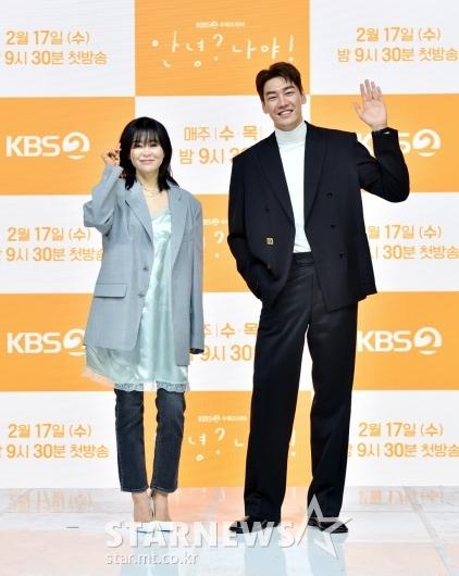 최강희-김영광 '유쾌한 두 배우'[★포토]